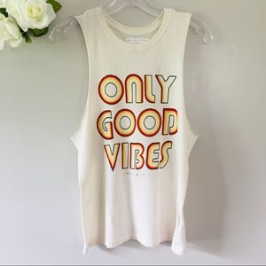 Spiritual Gangster Only Good Vibes Muscle Tank